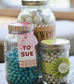 Idea Market Sticko Mason Jars