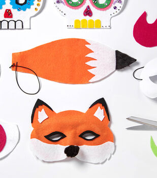 Felt Fox Mask and Tail
