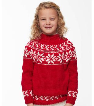 How To Make A Yuletide Yoke Sweater
