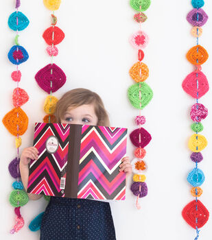 How To Make A Pop Of Color Garland