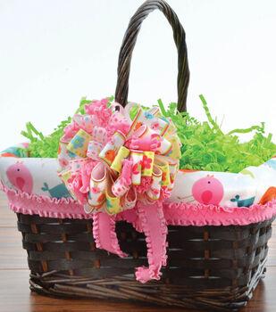 Lined Easter Basket