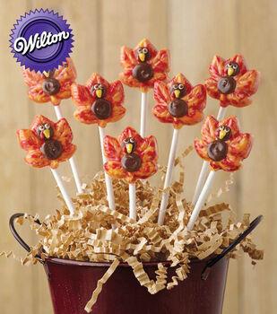 Turkey Candy Lollipops