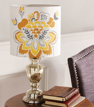 Buttercream™ Audrey Collection Stenciled Lamp
