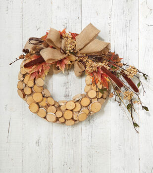Makers Guide: Birch Wreath