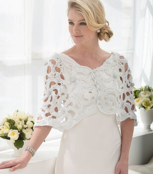 How to Make a Wedding Capelet