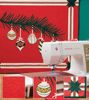 Deck The Halls Wall Quilt