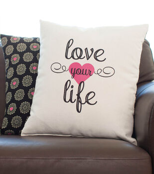 Love Your Life Pillow