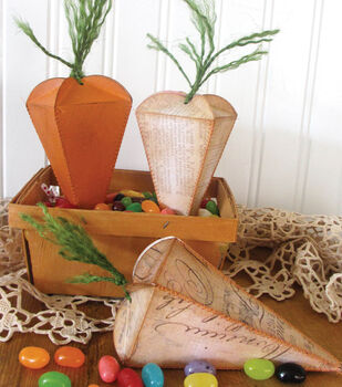 Carrot Candy Boxes