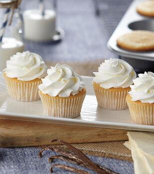 Creamy Vanilla Custard Cupcakes