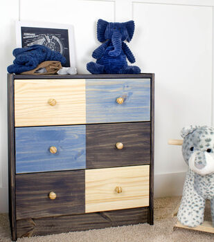Modern Style Stained Dresser