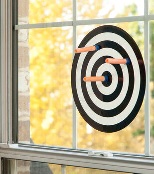 Window Cling Target