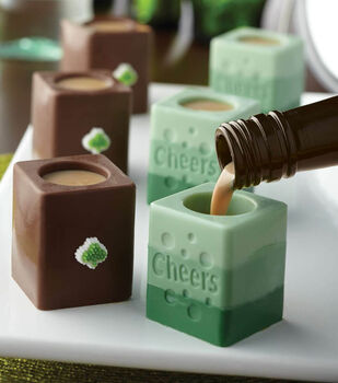 St. Patrick's Day Candy Shot Glasses