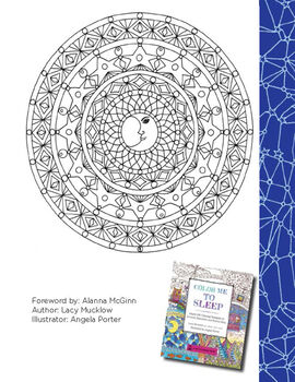 Color Me To Sleep Coloring Book Printables