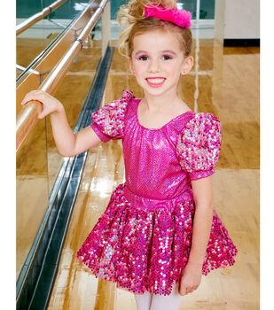 Pink Dance Costume and Headband