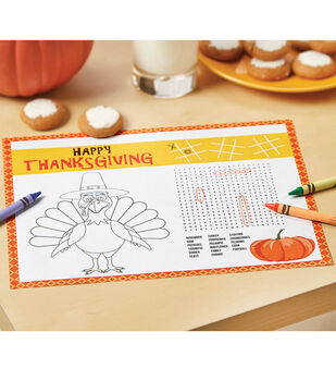 How To Make A Printable Interactive Table Mat