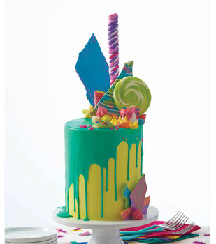 How To Make A Bold and Bright Candy Explosion Cake