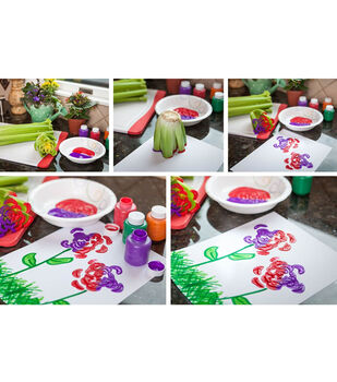 How To Make A Celery Bloom Stampers