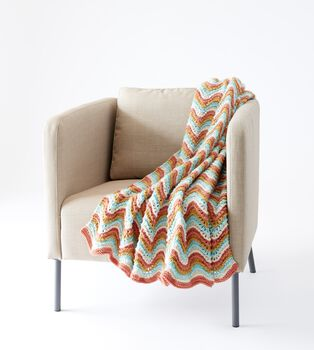 Fancy Feather and Fan Blanket to Knit