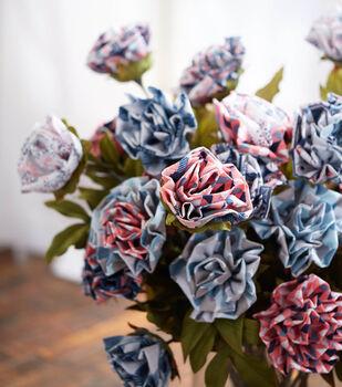 Fabric Blossoms