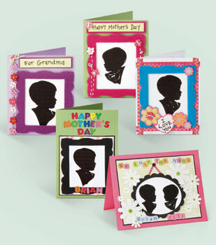 Children's Silhouette Cards