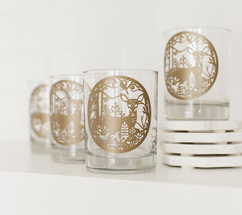How To Make A Deer Glass Decal