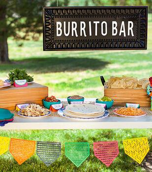 How To Make A Burrito Bar Sign