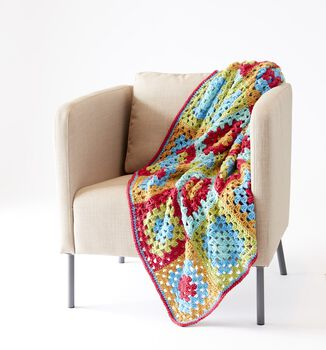 Jazzy Granny Blanket
