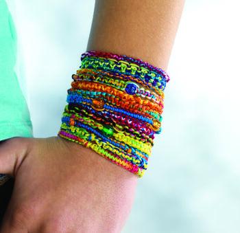 Stackable Tie Dye Friendship Bracelets