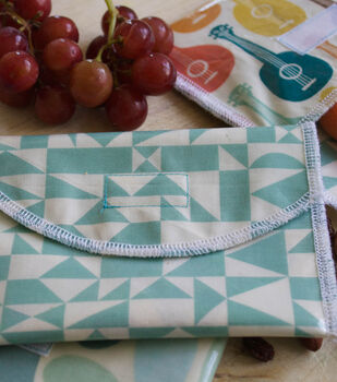 How To Make DIY Reusable Snack Bags