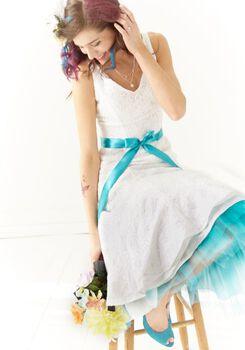 Pop Of Tulle Bride Dress