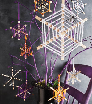 Spider Web Kid Craft