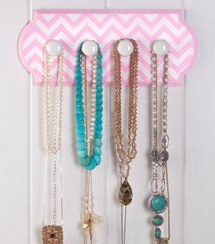Chevron Jewelry Hanger