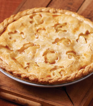 Fancy Buttery Crust Apple Pie