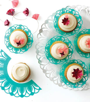 Cupcake Wrappers and Cupcake Toppers