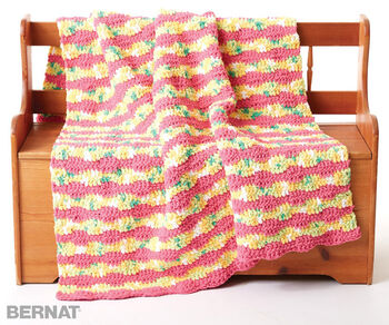 Summer Waves Crochet Blanket
