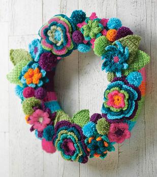 Crochet Flower Wreath