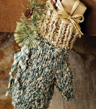 Knitted Fabric Mitten