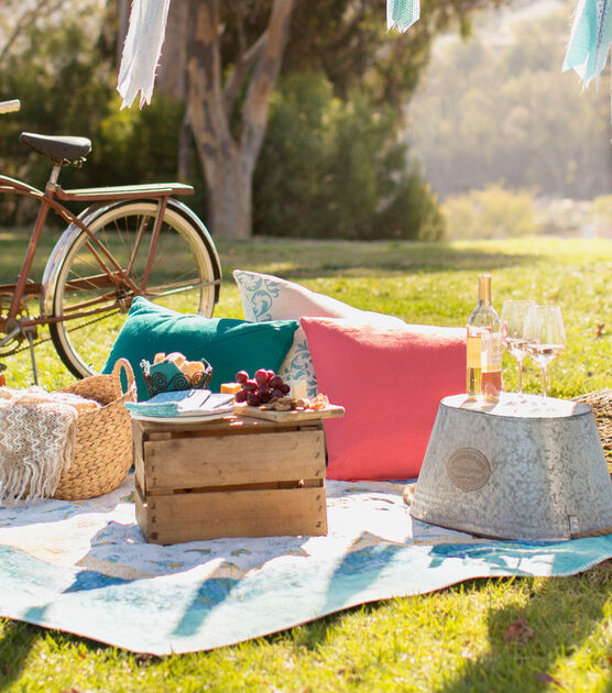 Make a picnic quilt free summer quilting pattern