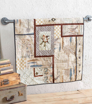 Tim Holtz Fabric Wall Hanging