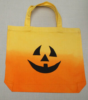 Ombre Jack O'Lantern Tote Bag