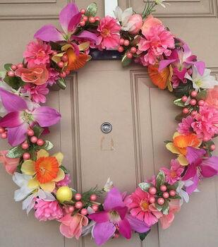Beatrice's Spring Flower Wreath