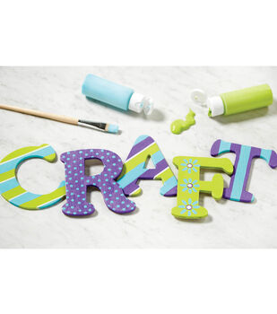 Painted CRAFT Letters