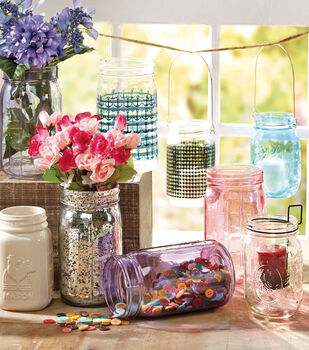 Buttercream™ Ball Jar Decor