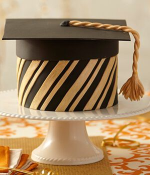 Grad's Success 5-Layer Fondant Cake
