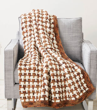Tweedy Bricks Blanket