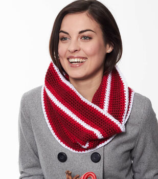 How To Make A Holiday Stripes Cowl