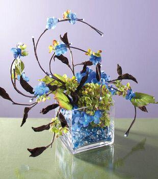 Lighted  Hydrangea Arrangement
