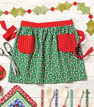 How To Make A Child's Holiday Apron