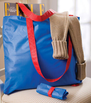 Fold-Away Tote Bag