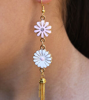 how to make flower child earrings - Handmade Jewelry Design Ideas
